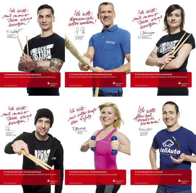 Sparkasse Leipzig, B2B Kampagne 2015